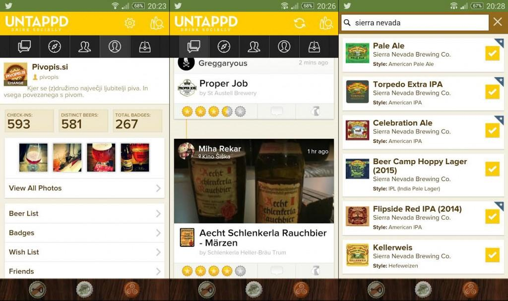 fotka-untappd-aplikacija