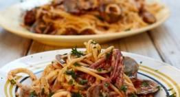 Pikantni špageti z vongolami