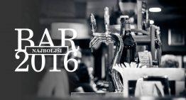 IZBOR LJUBITELJEV PIVA: Najboljši bari 2016!