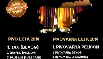 Kdo ima najboljše pivo v Sloveniji (2014)?