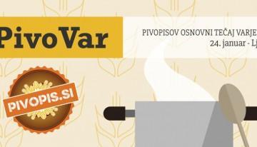 Pivopisov osnovni tečaj varjenja piva – #PivoVar