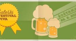 Napovedujemo: Šaleški festival piva (Šoštanj)