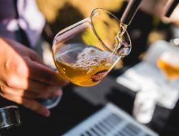 Iz česa priteče točeno pivo?