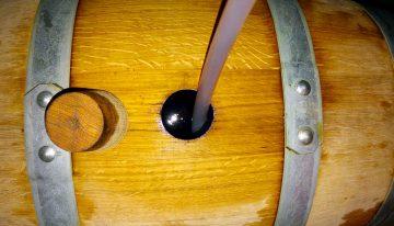 Zorjenje piva v sodih (barrel aging)