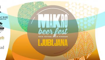 PRIHAJA: Makro beer fest Ljubljana 2018